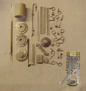 M41 (3) Additives silo and conveyor - N GAUGE -