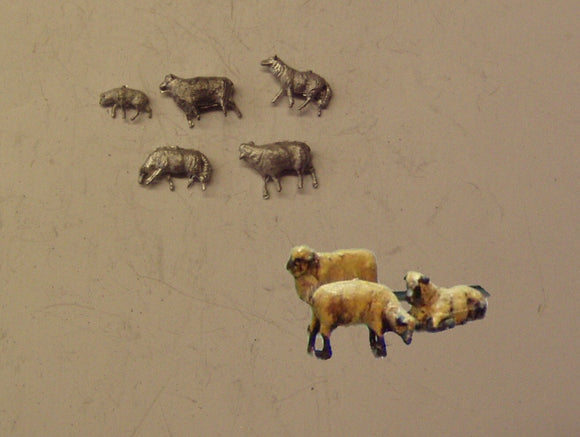 PW115 (1) Sheep (5) - OO GAUGE -