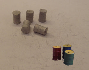 PW124 (1) Oil drums (5) - OO GAUGE -