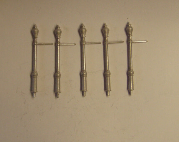 PW133 (1) Period residential electric lamps (5) - OO GAUGE -