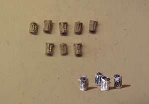 PW250 (1) Dustbins (8) - OO GAUGE -