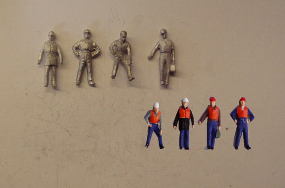 PW261 (1) Track gang / Construction workers (4) - OO GAUGE -