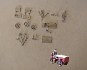 PW55 (4) Motorised delivery tricycle - OO GAUGE -