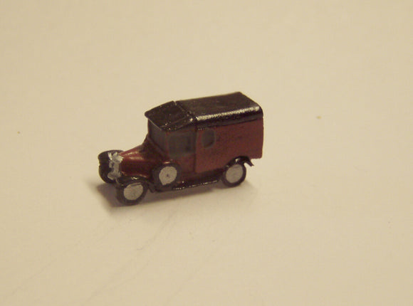 X01  Morris Commercial Van (intro. 1924) - N GAUGE -