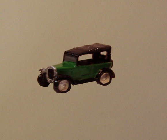 X02 Austin 7 Chummy soft top up (intro 1930) - N GAUGE -