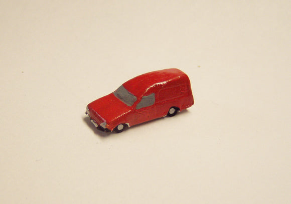 X15 Ford Escort Van (intro. 1980's) - N GAUGE -