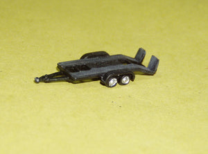 X63 15ft car trailer - N GAUGE -