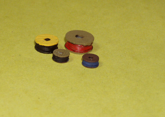X65 Cable drums (4) - N GAUGE -