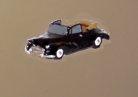 X72 Morris Minor tourer soft top down (intro. 1956) - N GAUGE -