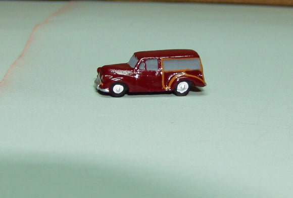X73 Morris Minor Traveller (intro. 1953) - N GAUGE -