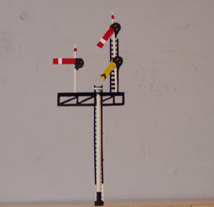 Z354L GWR/BR Left hand junction signal - OO GAUGE -