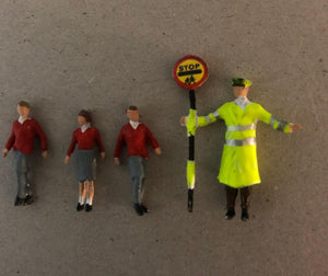 Z58 School crossing patrol (1990 onwards) - OO GAUGE -