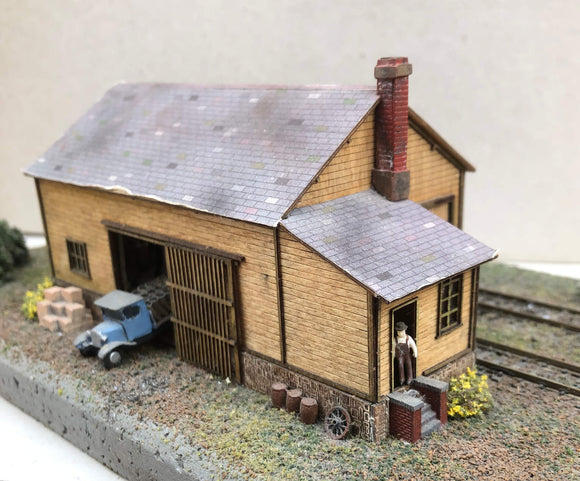 WGSN (4) Watlington Goods Shed - N GAUGE - temporarily out of stock
