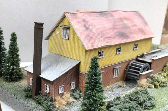 WMFN (4) Water Mill at Flitwick - N GAUGE -