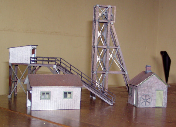 GCMOO Grover Croft Mine OO GAUGE