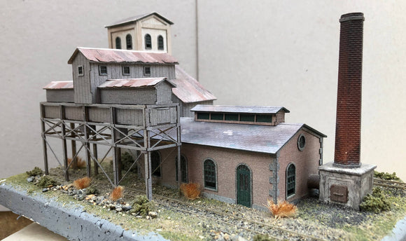 WCWN (4) Wenford Clay Works - N GAUGE -