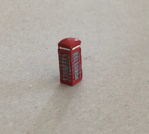 X87 K6 Telephone Box (intro 1935) - N GAUGE -