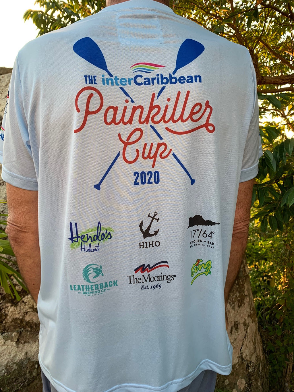 official painkiller cup sup racer jersey