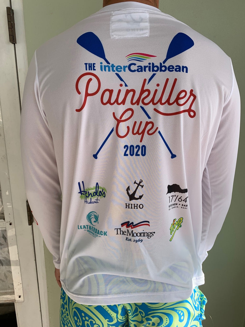 painkiller cup upf50 shirt