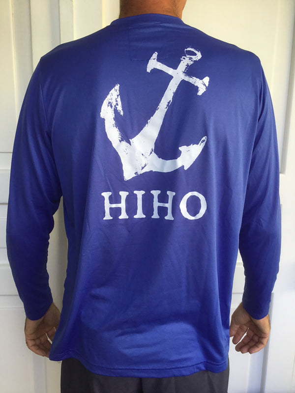 Long Sleeve HIHO Anchor Suntek - Dazzling Blue