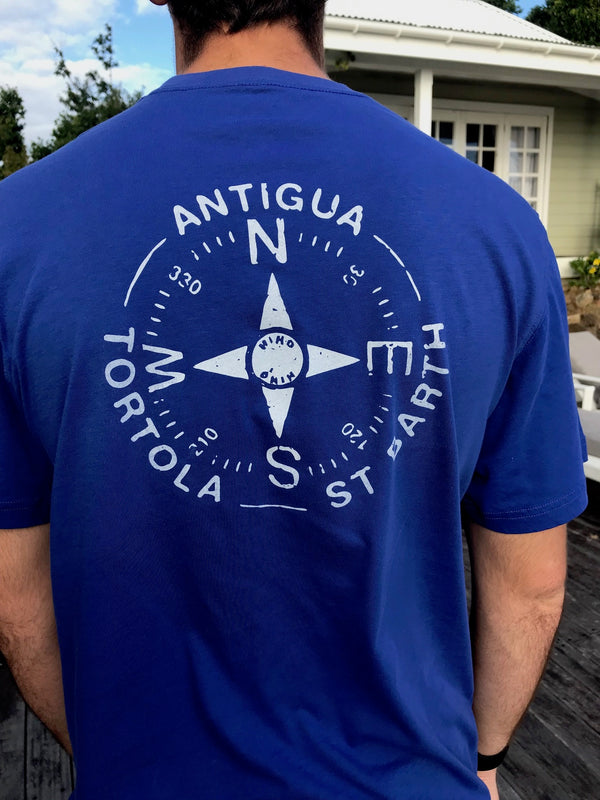 super soft nautical compass T-shirt