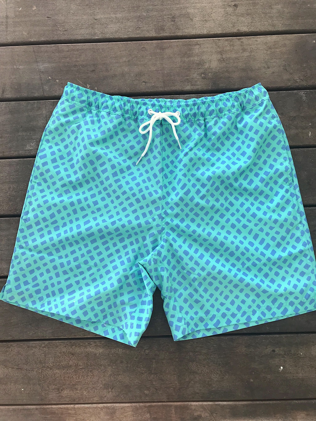 Barbuda Swim Trunk - Catch Me Print