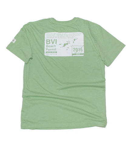 BVI Beach Permit - Green