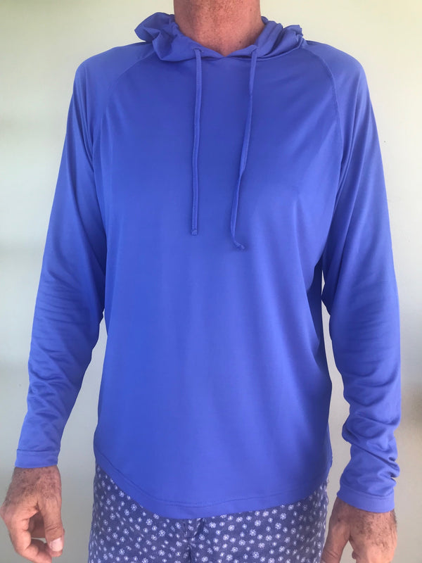 hooded upf50 shirt great for fishing