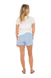 Ginger Short - Blue Chambray