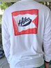 HIHO Pennant Patch L/S - White