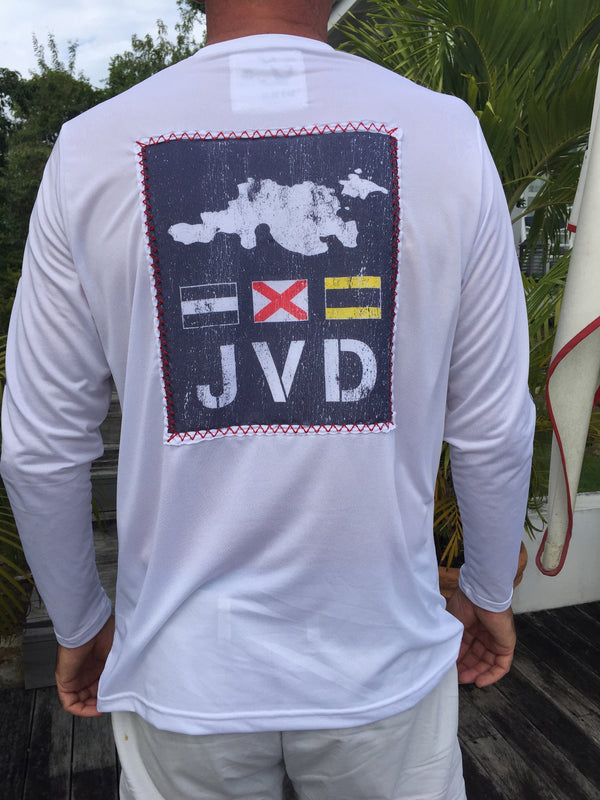 JVD Patch Suntek - White - L/S