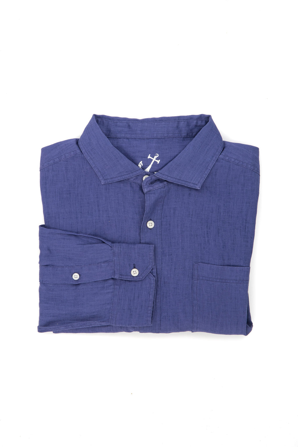 Linen Shirt - Skipper Blue
