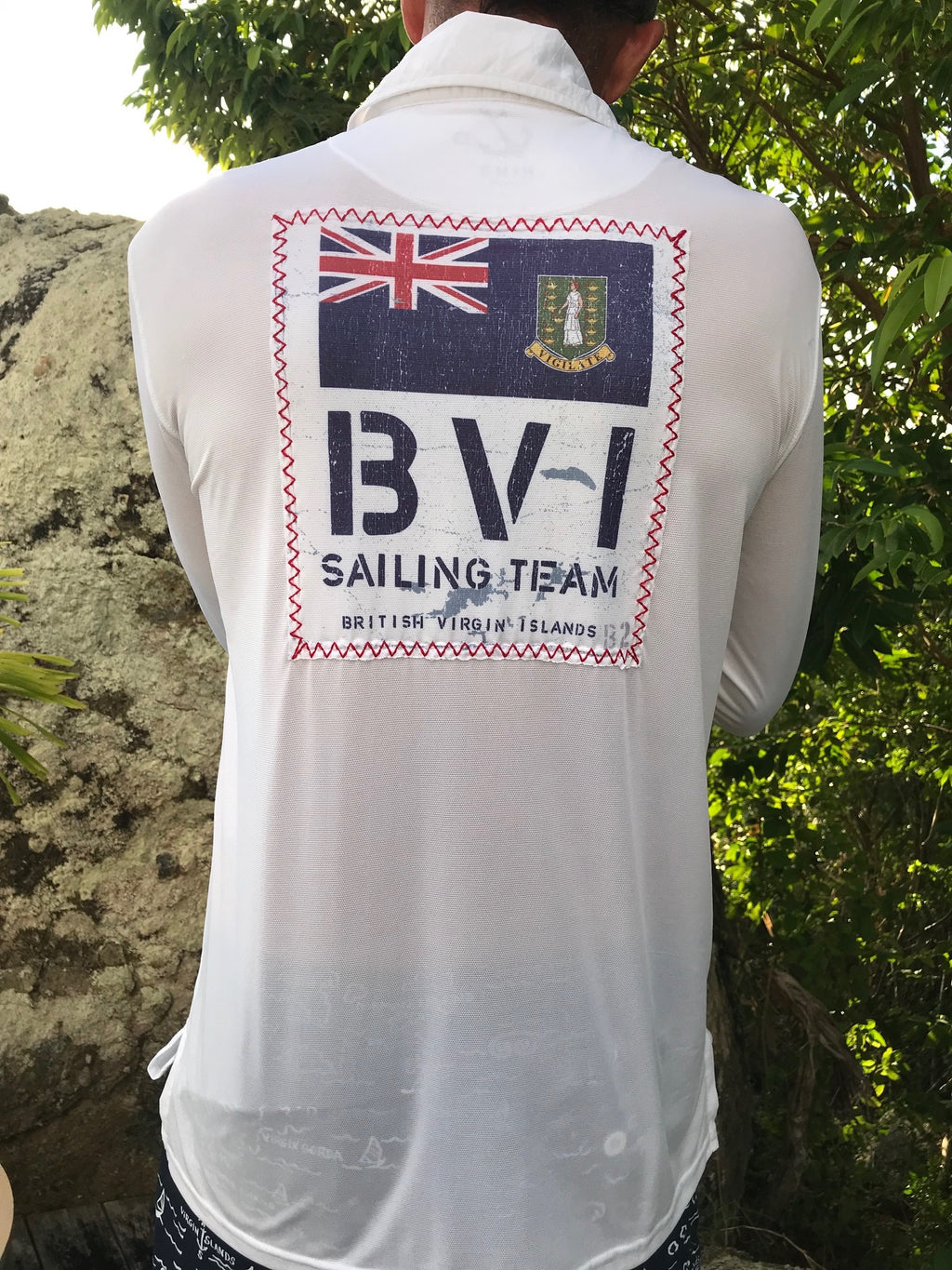 R3 BVI Sailing Team UPF50 Shirt - white
