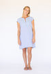 Rachel Dress - Dusky Blue Chambray