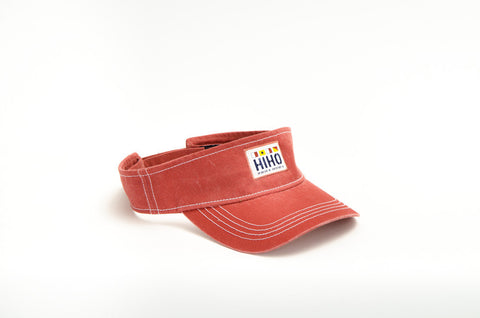 HIHO Flags Visor - Nantucket Red