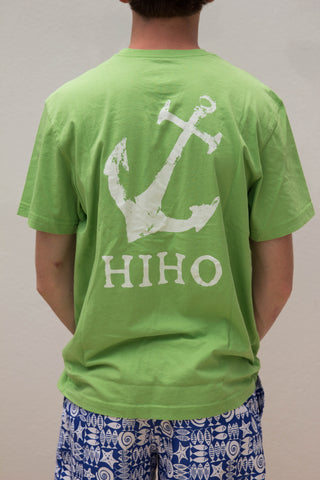 S/S Anchor T-shirt - Green