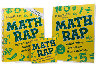 Math Rap Level Two Teacher Preview Bundle