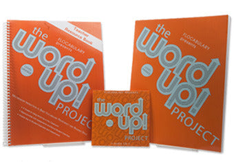 The Word Up Project Level Orange Six Pack