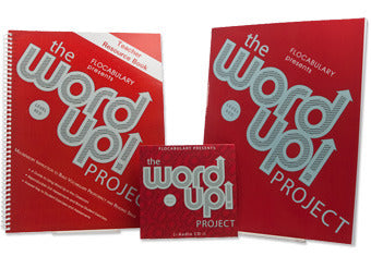 Class Set - The Word Up Project Level Red