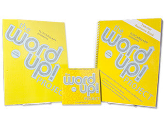 Class Set - The Word Up Project Level Yellow