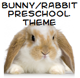 rabbit preschool theme
