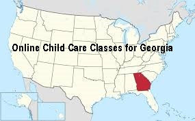 Online Child Care classes Georgia