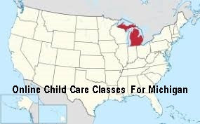 online child care classes Michigan