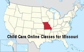 child care online classes Missouri