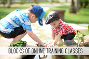 blocks of online childcare training classes