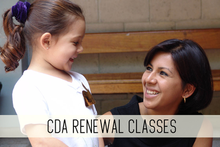 CDA renewal classes