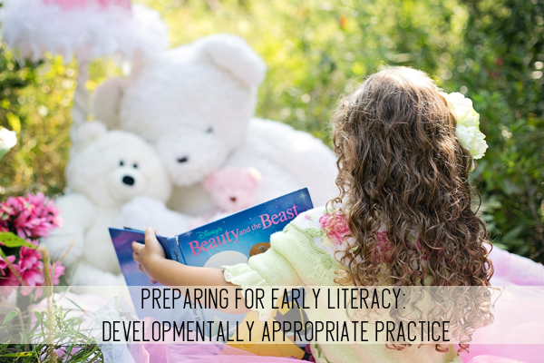 preparing for early literacy: developmentally appropriate practice online child care class
