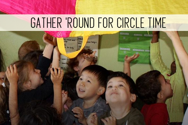 gather round for circle time online child care class