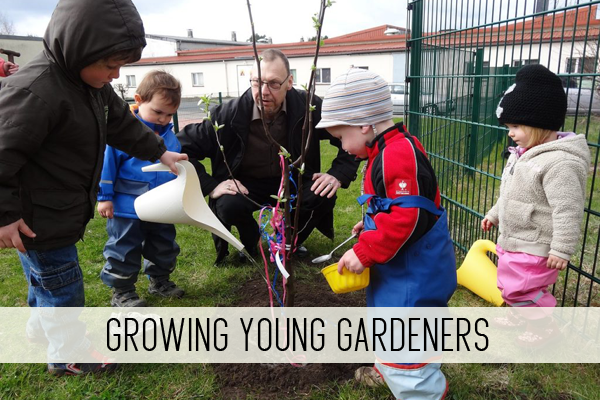 growing young gardeners online child care class