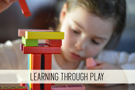 learning through play online child care class